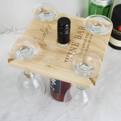 Personalised Free Text Wine Butler