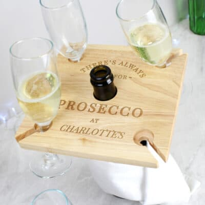 Personalised Prosecco Wine Butler