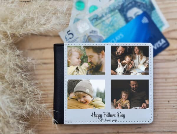 Personalised Happy Father's Day Wallet