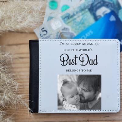 Personalised Worlds Best Dad Wallet