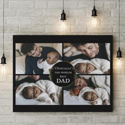 Personalised Worlds Best Dad Design