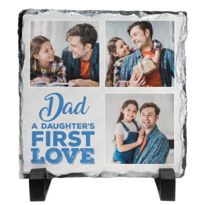 Personalised A Daughter's First Love Slate