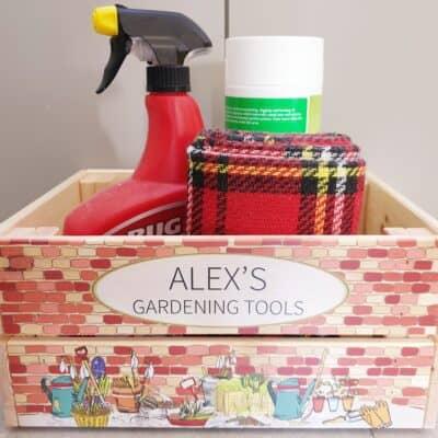 Personalised Gardening Design 1 Crate