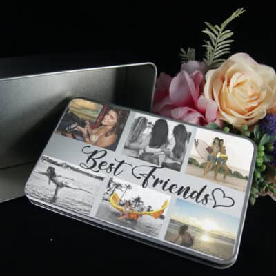 Personalised Best Friends Tin