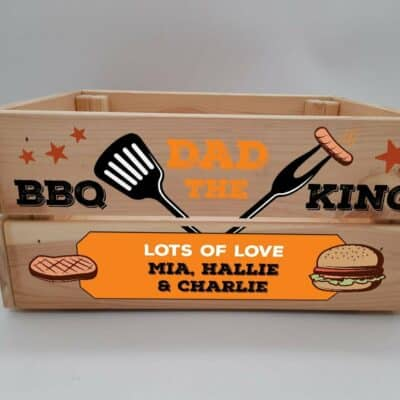 Personalised BBQ King Crate