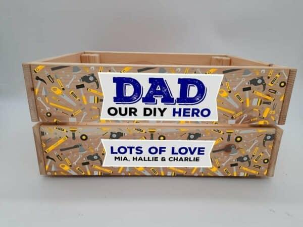 Personalised DIY Hero Crate