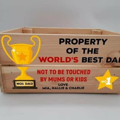 Personalised Property Of World's Best Crate
