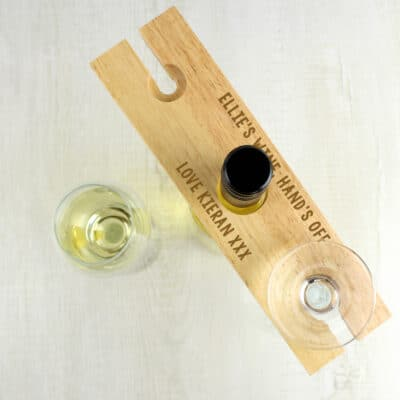 Personalised Any Wording Wine Butler