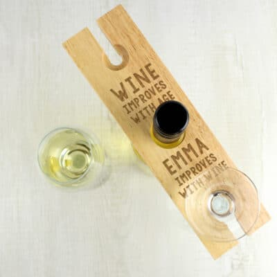 Personalised Improves With Wine Wine Butler
