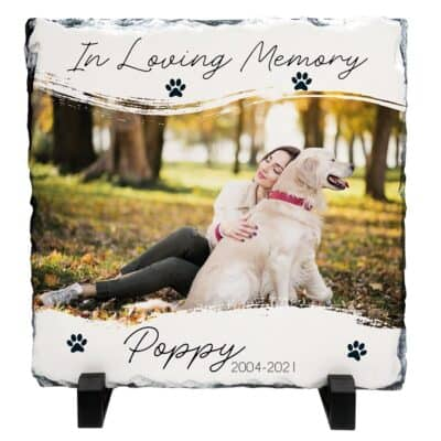 Personalised In Loving Memory Pet Slate