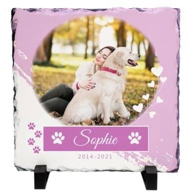 Personalised Pet Memorial Slate