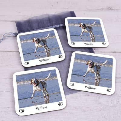 Personalised Pet Coaster Set
