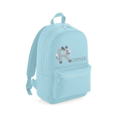 Personalised Animal Mini Backpack