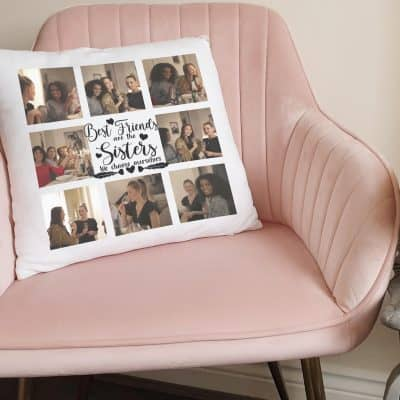 Personalised Sisters We Choose Ourselves Cushion