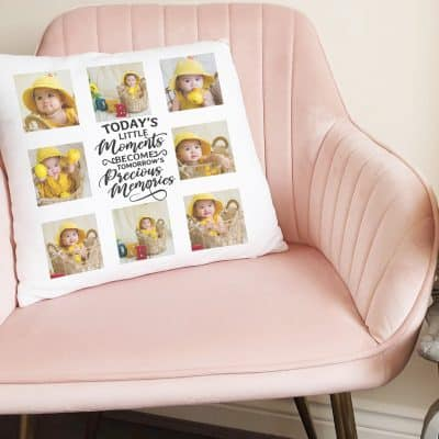 Personalised Todays Little Memories Cushion