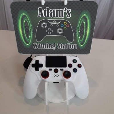 Personalised Acrylic Gaming Station