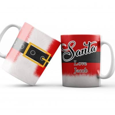Personalised Santa Mug